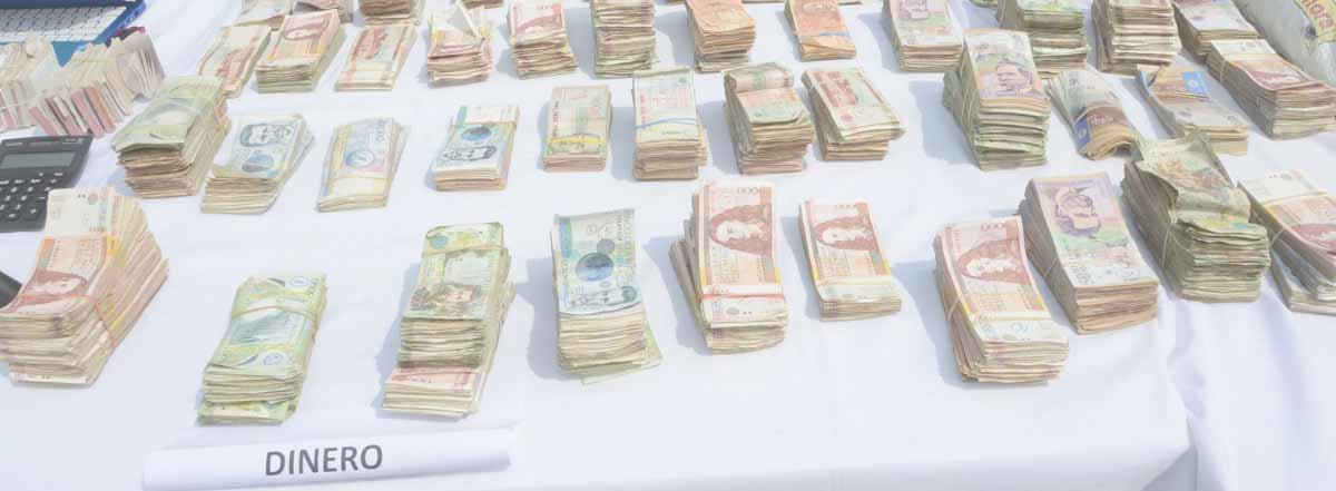 dinero ilegal