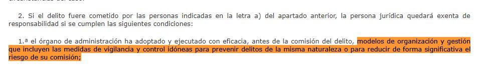 articulo 31 Bis del código penal
